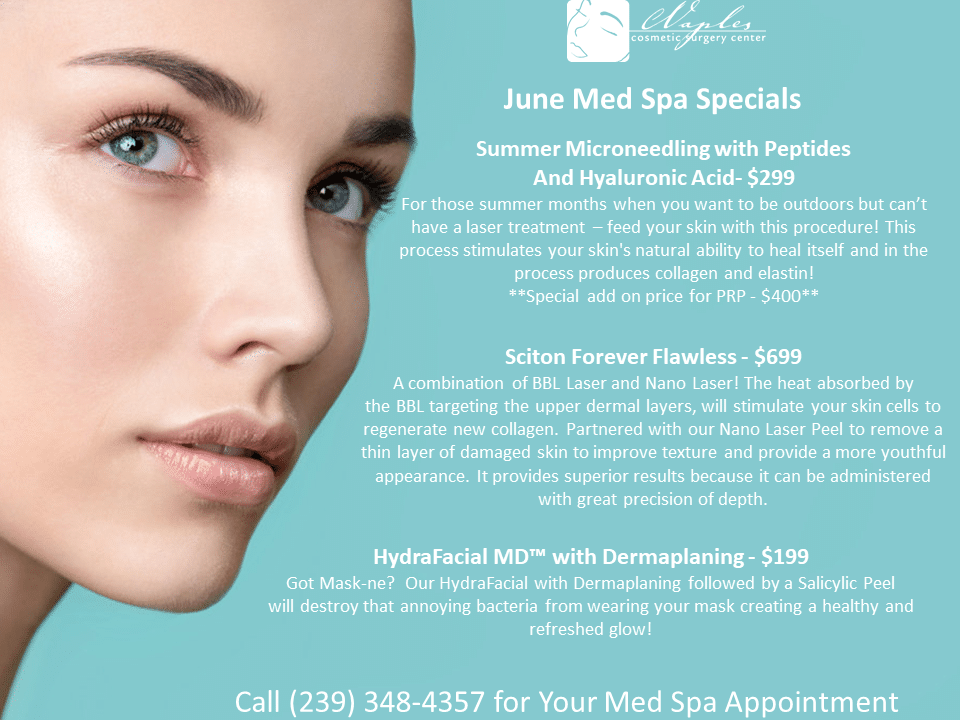 June 2020 Med Spa Specials